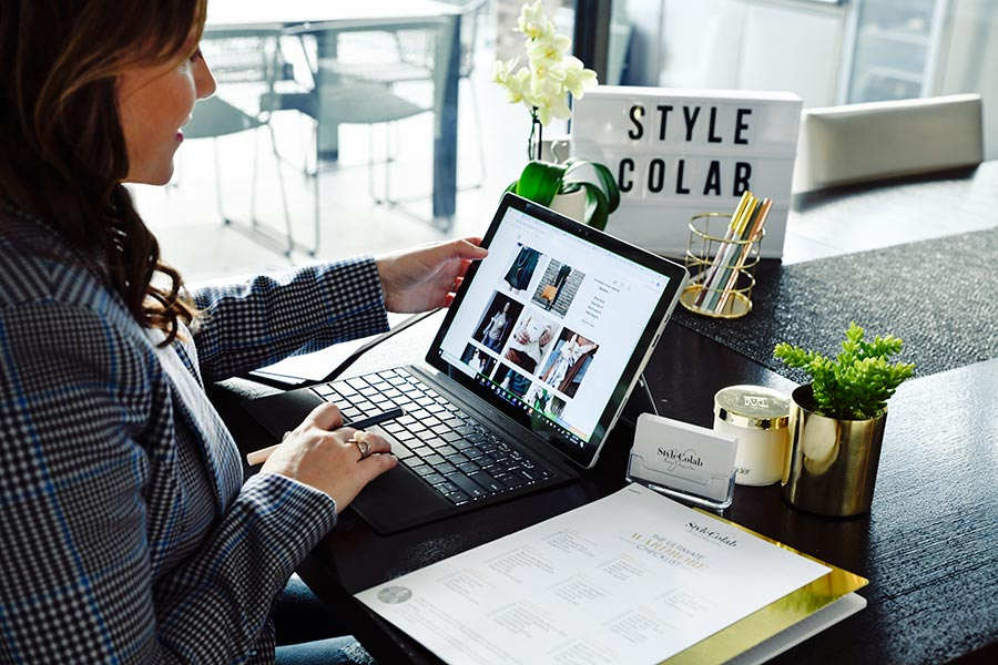 Online and Virtual Styling